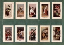 Collectible Tobacco Cigarette cards famous painting,  Art Treasures